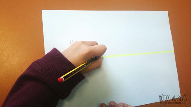 postura incorrecta escribir zurdos
