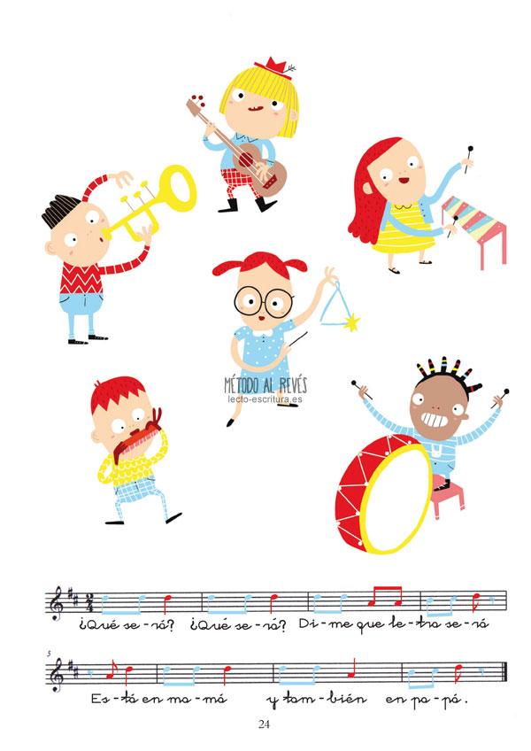 canción aprendizaje lectoescritura