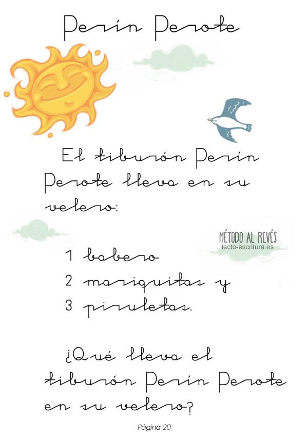cuento de Perín Perote