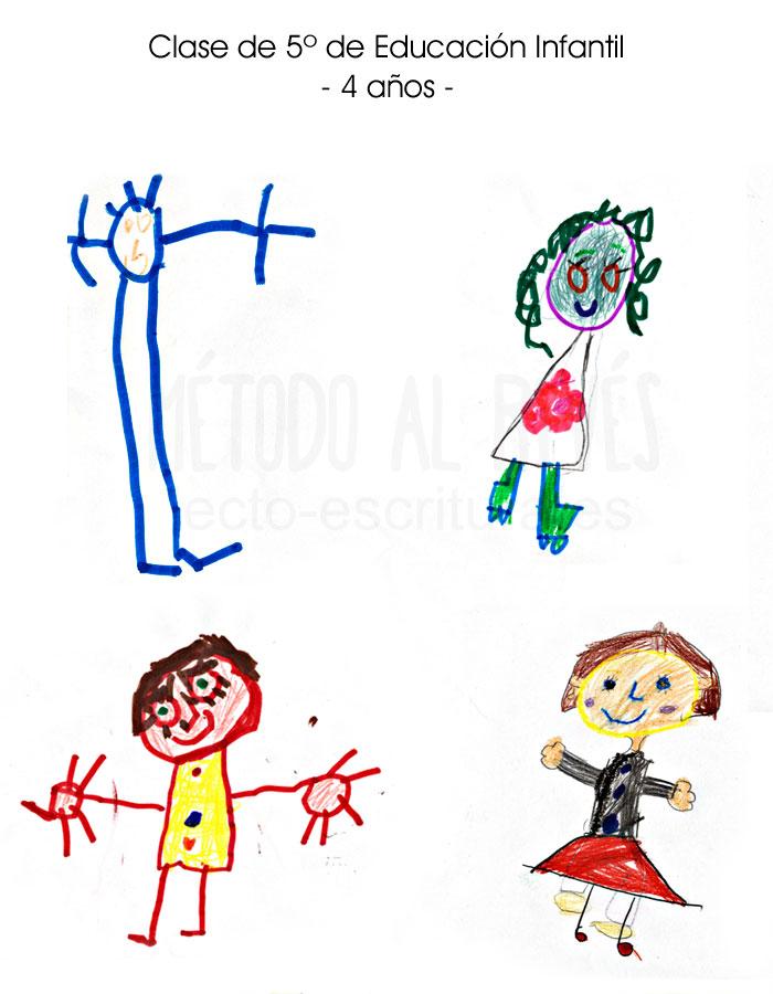 dibujos Clase de 5º de Educación Infantil 4 años