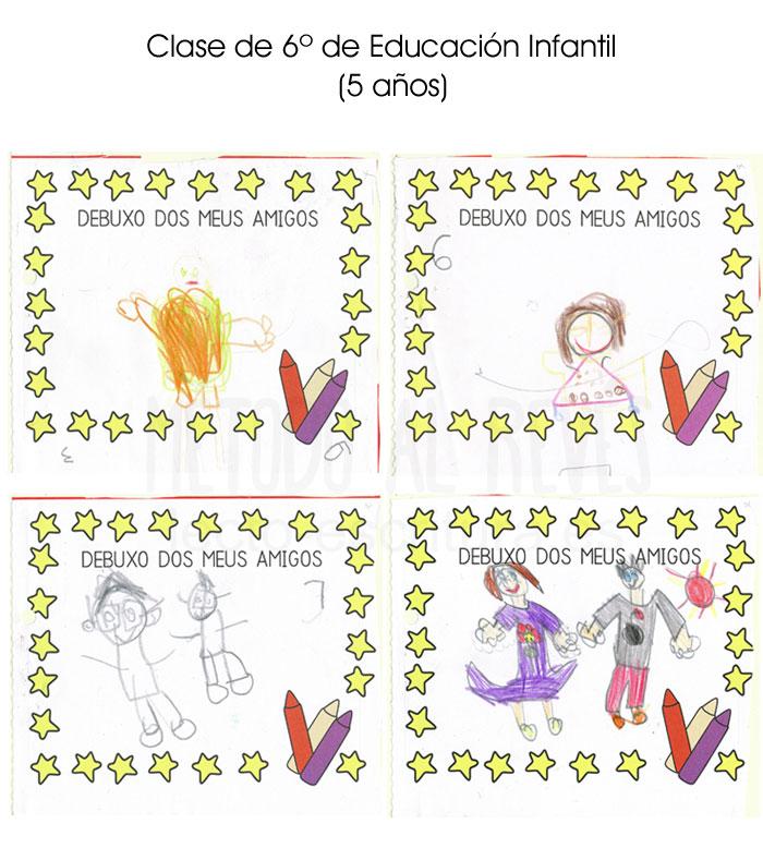 dibujos Clase de 6º de Educación Infantil 5 años