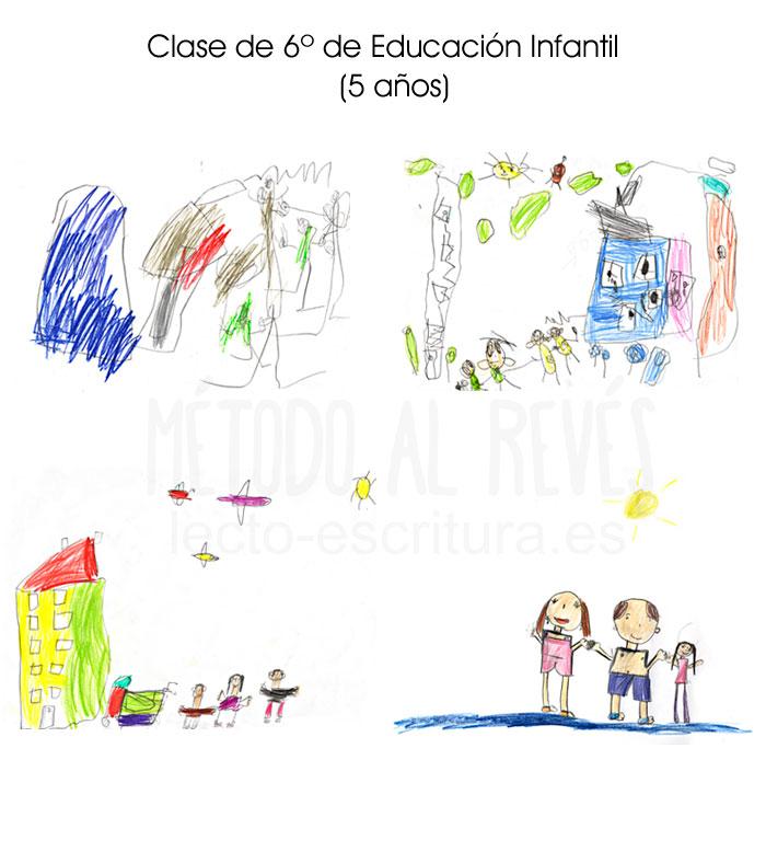 Etapas del dibujo en niños de 5 años