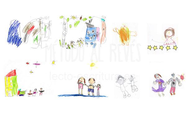 dibujos niños 5 años Educación Infantil