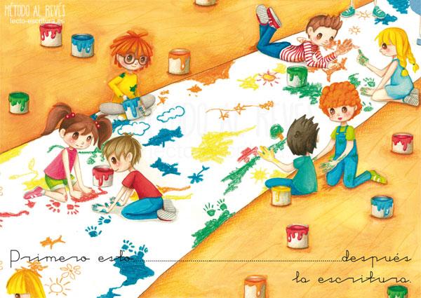pintar prepara a los niños para la escritura